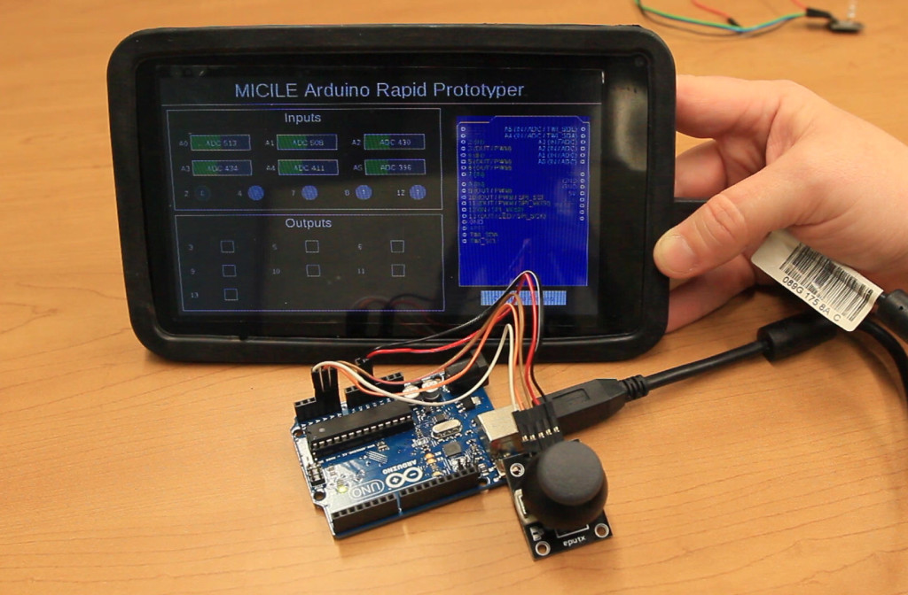 MICILE and Arduino Rapid Prototyping App Video